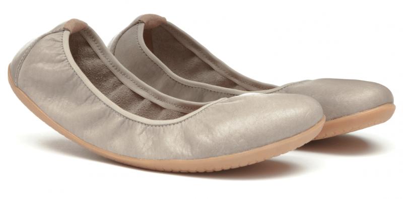 Vivobarefoot JING JING L Leather Cobblestone (4)