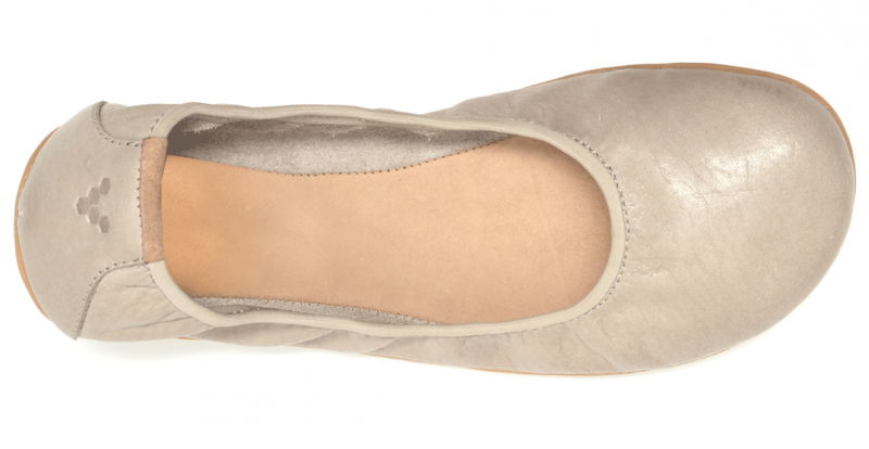 Vivobarefoot JING JING L Leather Cobblestone (5)
