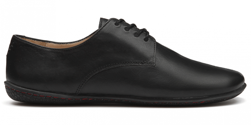 Vivobarefoot LISBON M Leather All Black (1)