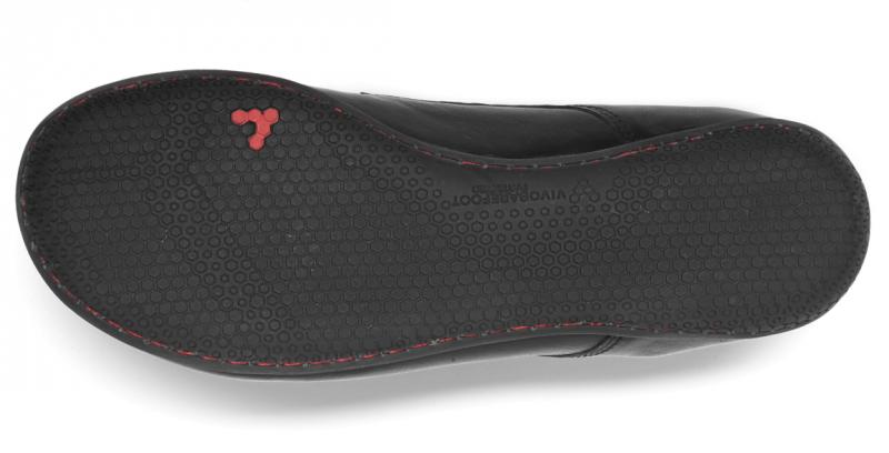Vivobarefoot LISBON M Leather All Black (2)