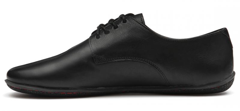 Vivobarefoot LISBON M Leather All Black (3)