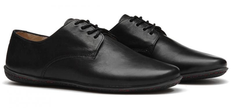 Vivobarefoot LISBON M Leather All Black (4)