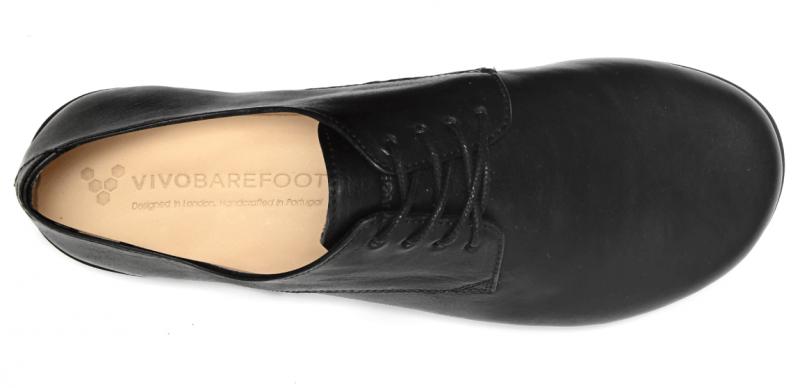 Vivobarefoot LISBON M Leather All Black (5)