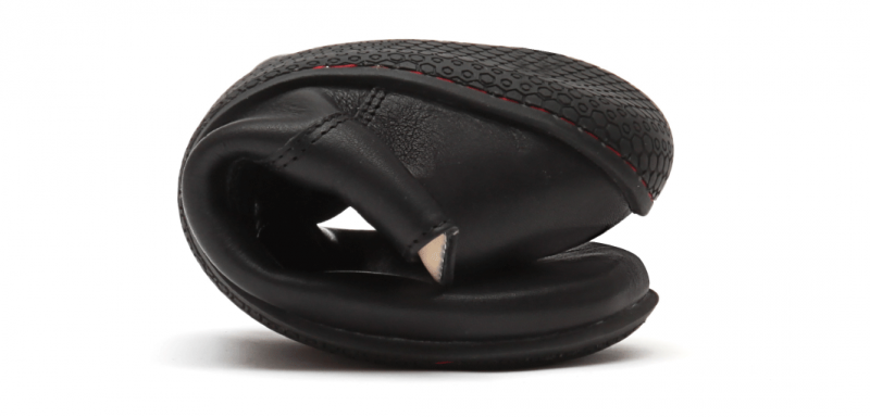 Vivobarefoot LISBON M Leather All Black (6)
